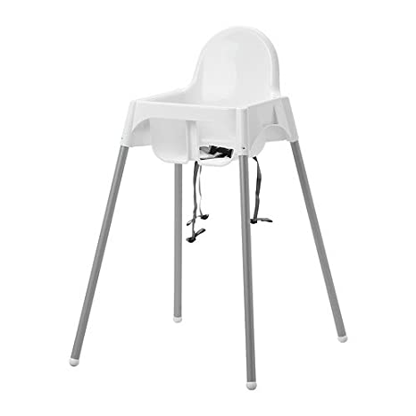 Ikea Trona con cinturón de Seguridad, Color Blanco y ...