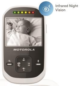 Motorola MBP25-2 has night vision