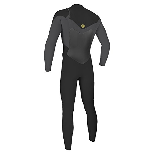 O'Neill Men's O'Riginal 4/3mm Chest Zip Full Wetsuit, Oil/Smoke, Small by O'Neill Wetsuits (Image #1)