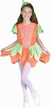 (Child's Pumpkin Princess Halloween Costume (Size: Medium)