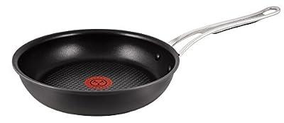 Tefal Jamie Oliver Hard Anodised Premium Series Frypan - 26cm, Black