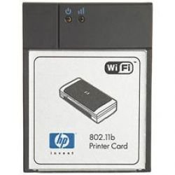 HP C8150-67044 Compact flash wireless printer card - IEEE 802.11g Wireless LAN (Wireless Card Compactflash Lan)