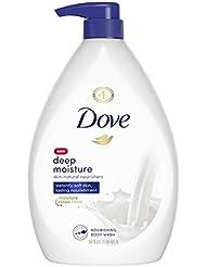 Dove Body Wash Pump For Dry Skin Deep Moisture Sulfate Free Moisturizing Bodywash 34 oz