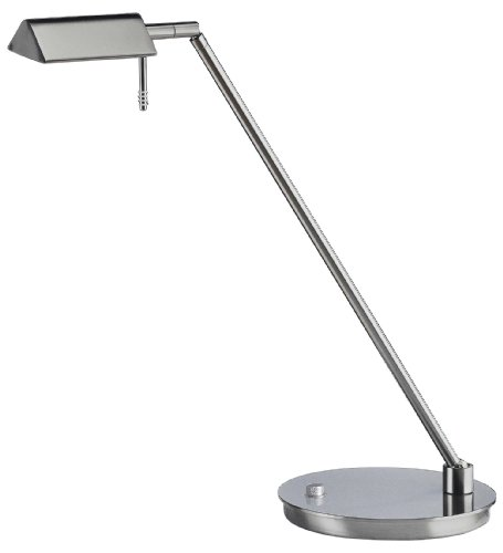 eries Low-Voltage Desk Lamp, Satin Nickel (Series Low Voltage Halogen Lamp)