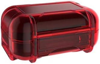 Kz Mini Abs Resin Earphone Storage Organizer Earphone Holder Earbud Storage Case Green