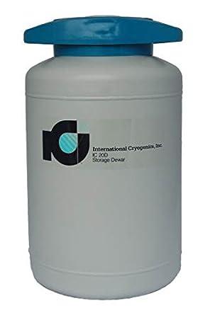 International Cryogenics LN2 Liquid Nitrogen Storage Dewar, 20 L
