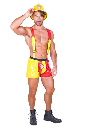 Men's Sexy Firefighter Costume