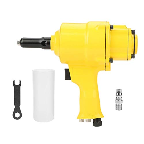 Industrial Pneumatic Riveter Double Cylinder Type Air Riveter Pneumatic Nail Gun Riveting Tool by Unknown