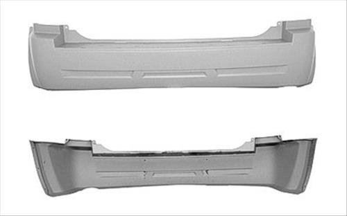 OE Replacement Jeep Cherokee/Wagoneer Rear Bumper Cover (Partslink Number CH1100865)
