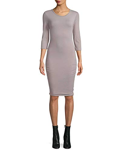 Fitted Womens Crewneck 4 Perse Dress James FAxtw