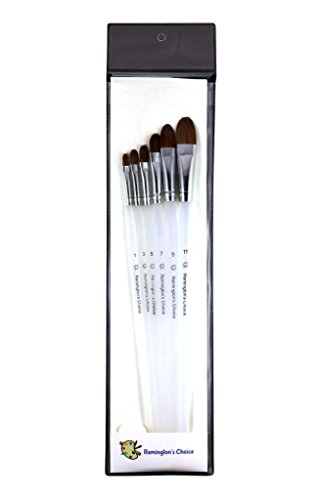 Professional Paint Brushes 6 Pieces For All Types Of Paints Acrylic