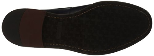 Kenneth Cole Reazione Mens Seguire Il Mio Piombo Slip-on Dress Shoe Navy