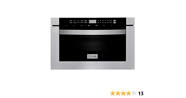 Zline 24 1 2 Cu Ft Microwave Drawer In Stainless Steel Appliances