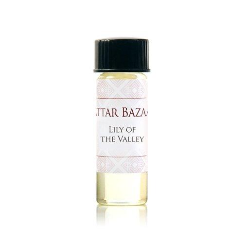 ATTAR BAZAAR FRAGRANCES Lily of The Valley Perfume Oil, 0.13 Ounce