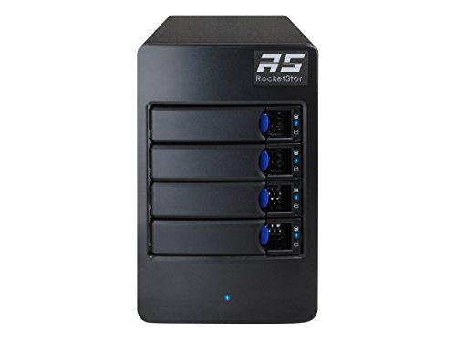 Highpoint RocketStor 6114V 4-Bay Raid 5 USB 3.1 Gen 2 Storage Enclosure