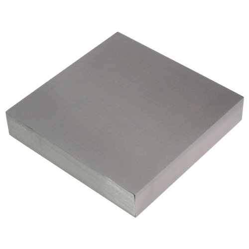 HTS 106N7 Stainless Steel Flat Jeweler's Bench Block for Wire Hardening / Flattening (Block Steel Stainless)