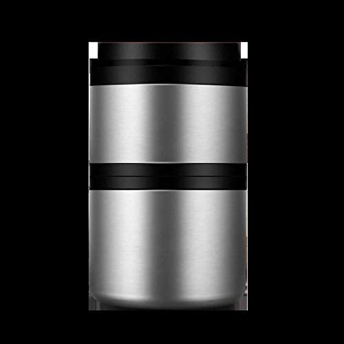 Portable stainless steel lunch box multilayer stack sealed and insulated barrel with cover