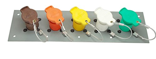 Power Assemblies 5 Position CAM Lock Panel, 400 Amp, 3 Phase