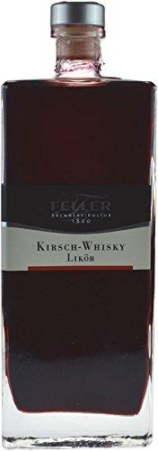 Feller Kirsch-Whisky-Likör 0,5l - Whiskylikör mit der Fruchtnote reifer Kirschen der Brennerei Feller