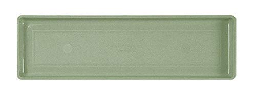 Novelty 10301 Plastic Flower Box Tray, Hunter Green, 30-Inch ()