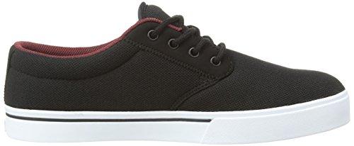 Burgundy Shoe Textile Skateboard Men's Jameson Eco Etnies White 2 Black Y6vzqWZ