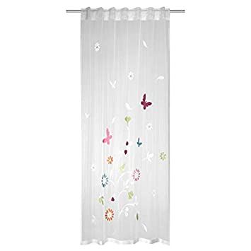 Amazon.de: Albani Kinderzimmer Gardine Spring Schmetterling | BxH ...