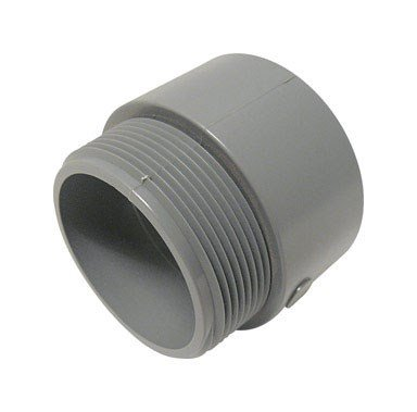 Cantex Pvc Male Terminal Adapter Threaded 2-1/2