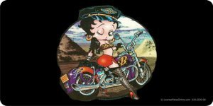 license plate frame betty boop - 6