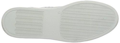 Bianco Punched Loafer Jfm17, Mocasines para Mujer Blanco (white 80)