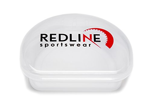 Redline Sportswear Custom Fit Mouthguard w/ Vented Case – Protection For All Contact Sports – DiZiSports Store