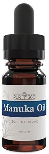 Pur360 Manuka Oil, 33x More Powerful Than Tea Tree Oil - Best Treatment for Toenail Fungus, Acne, Irritated Skin, Foot Fungus and More - Fights Bacteria and Fungus Naturally