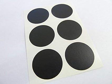 36 Farben Verf/ügbar Orange 2.5cm Rund Farbcode Sticker 25mm Packung mit 30 Bunt Zirkular Klebeetiketten