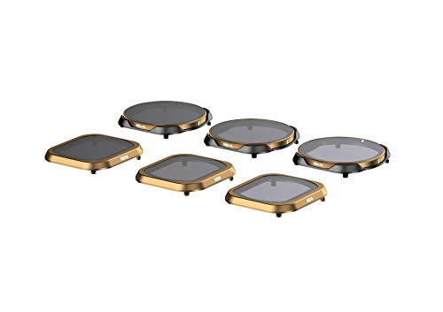 PolarPro Filter 6PK (ND4, ND8, ND16, ND4/PL, ND8/PL, ND16/PL DJI Mavic 2 Filters) for DJI Mavic 2 Pro
