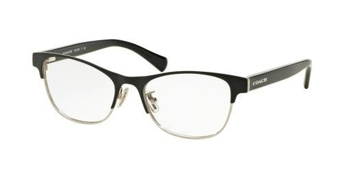 COACH Eyeglasses HC 5074 9239 Satin Black SilverBlack 52MM