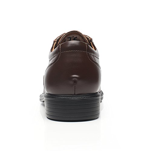Mens Wide Men's 1 La brown Shoes Width Dress Shoes Oxford Milano EEE Wide q5YSt