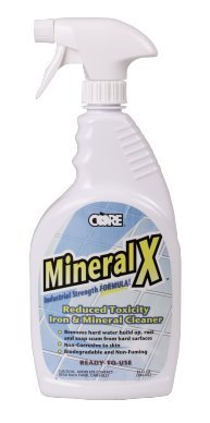 Core CMX32 Mineral X Reduced Toxicity Iron & Mineral Cleaner 1 quart