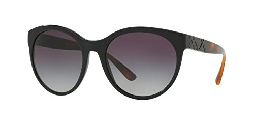 Burberry Women's 0BE4236 Black/Gray Gradient - Sunglasses Face Happy
