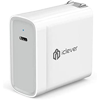 Amazon.com: USB C Wall Charger, iClever BoostCube Power ...