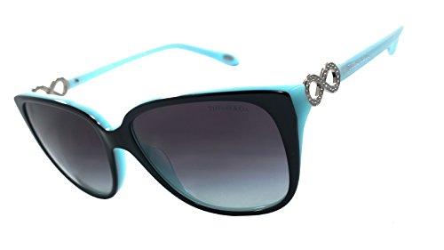 Tiffany & Co. Tf4111-b 100% Authentic Women's Sunglasses Black / Blue - Sunglasses Sale Tiffany