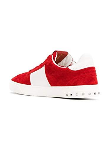 Uomo Rosso Garavani Sneakers Camoscio Valentino Py2s0a08larr81 OX8Efqwx