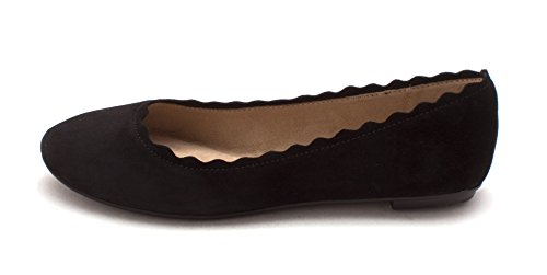 Black Crown Femmes Ballerines Vintage Weslyn rq8Tq4I