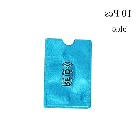 Model TRVLWLLT 1504 Mikash 10x Anti Theft Credit Card Protector RFID Blocking Aluminum Safety Sleeve Shield