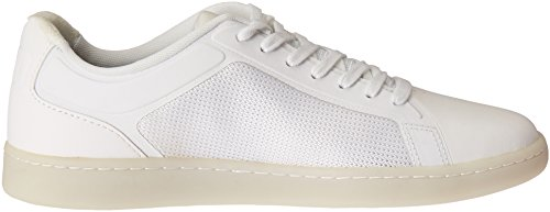 Lacoste Men's Endliner 416 1 Spm Fashion Sneaker, White, 7 M US
