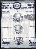 Fairfax Vacuum Bags - 3 Pack