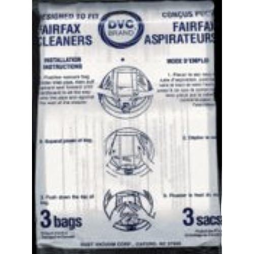 Top Fairfax Vacuum Bags - 3 Pack
