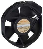 NMB TECHNOLOGIES 5915PC-12T-B30-A00 AXIAL FAN, 150MM, 115VAC, 380mA