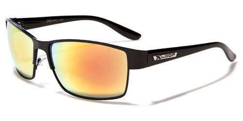 X Loop Mens / Womens / Unisex Athletic Sport Designer Fashion Sunglasses with UV400 Lens - Available in Black / Silver / Gunmetal - Includes Custom Branded Microfiber Pouch & - Cheap Oakleys Sale Sunglasses For