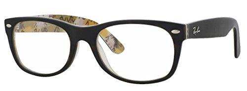 Ray-Ban RX5184 Eyeglasses (52 mm, Matte Havana - Wayfarer Ray Ban Prescription Glasses
