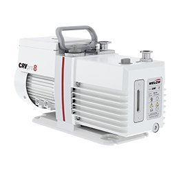 Gardner Denver Thomas 3081-01 Welch CRVpro Direct Drive Rotary Vane Vacuum Pump, US Plugs, 8 m3/hours, 158 L/min, 115V, 60 Hz