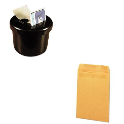 KITLEE40100UNV35292 - Value Kit - Universal Self-Stick File-Style Envelope (UNV35292) and Lee Ultimate Stamp Dispenser (LEE40100) by Universal
